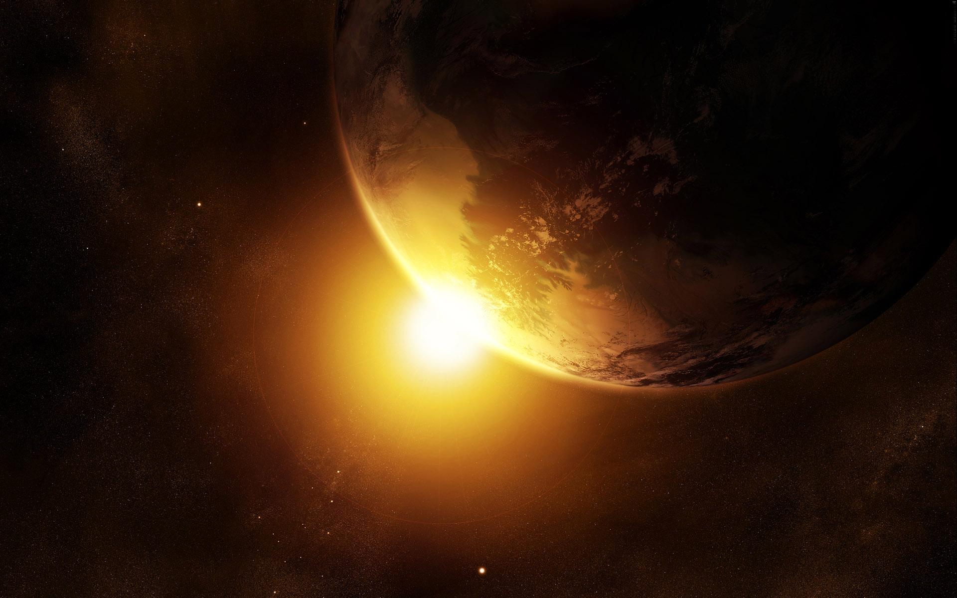 Sfondi desktop spazio (terra, sole, luna e gli altri pianeti e
