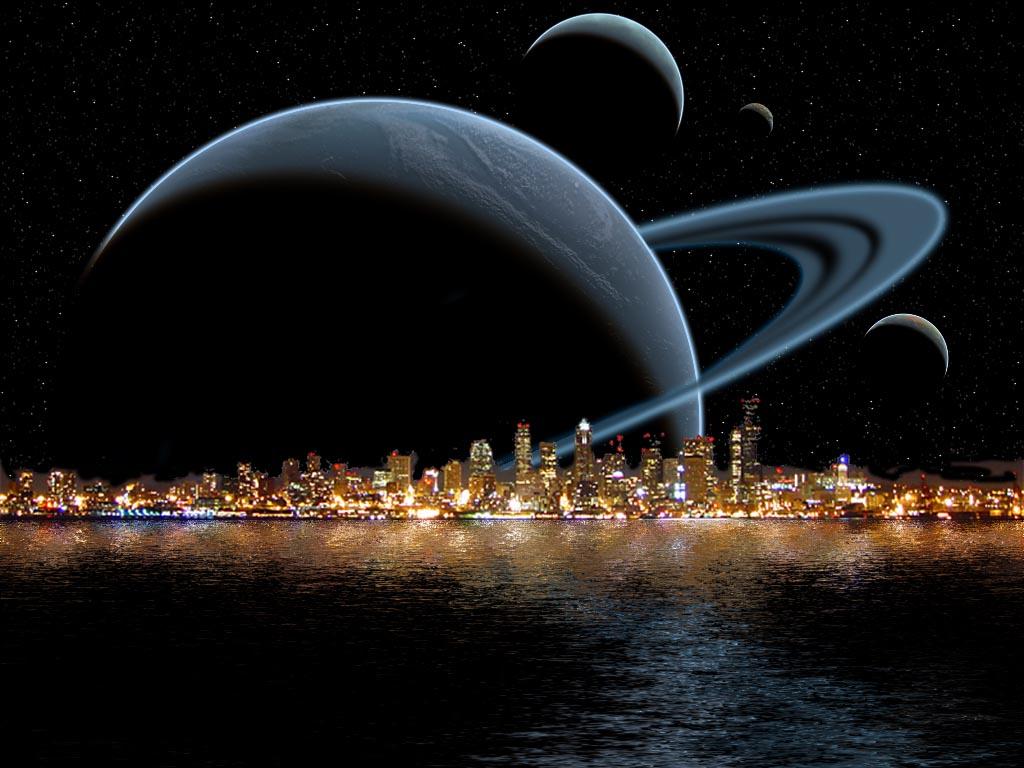 Sfondi desktop spazio terra sole luna e gli altri pianeti e