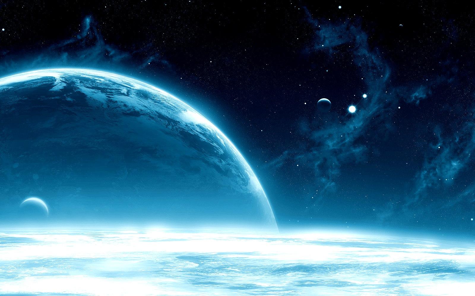 Spazio sfondi desktop della terra e la luna visti dallo for Sfondi spazio